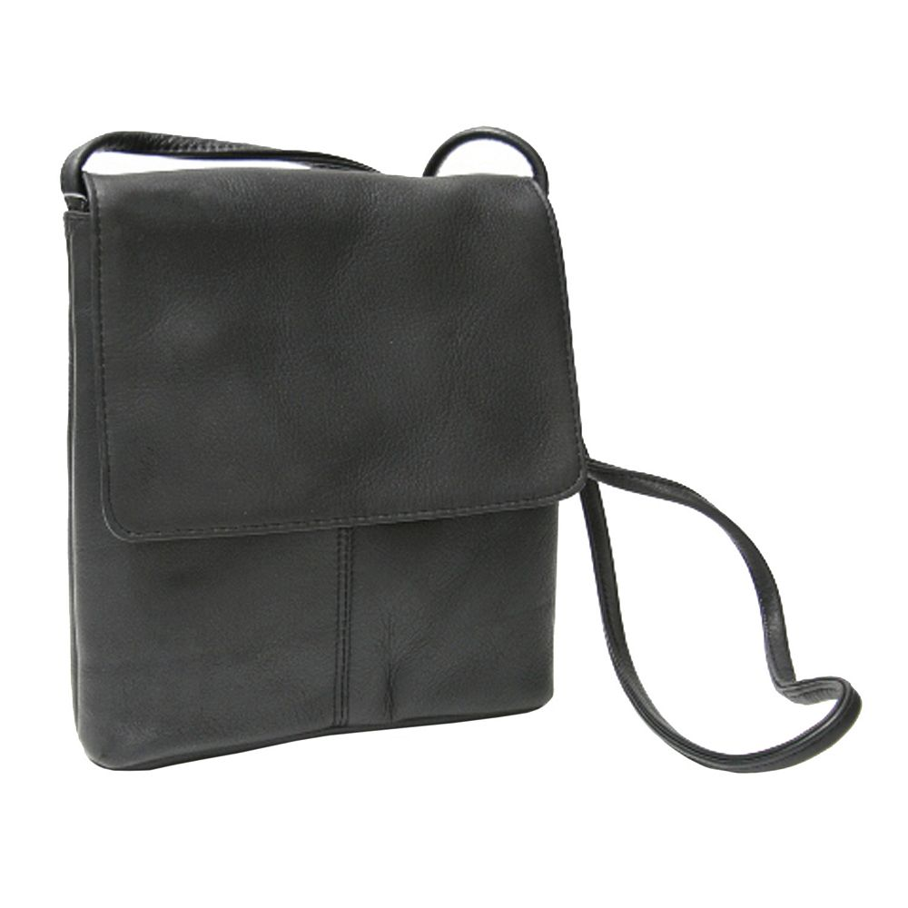 Royce Leather Vaquetta Small Flapover Crossbody Bag 681a482a5536c