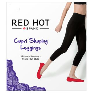 Red Hot by Spanx Shaping Capri Leggings - 2244