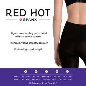 Red Hot by Spanx Shaping Capri Leggings - 2244