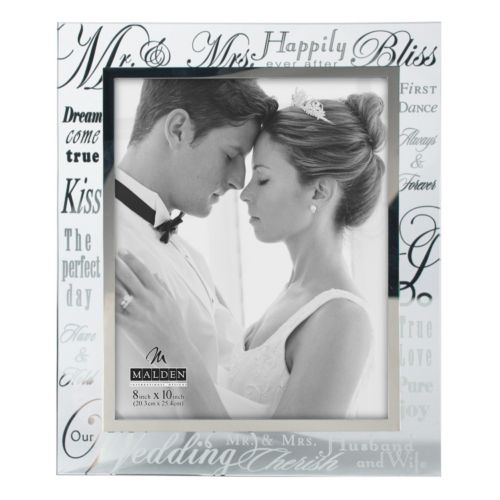 Malden ''Mr. and Mrs.'' 8'' x 10'' Frame