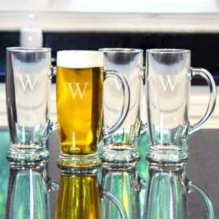 Cathy's Concepts 4-pc. Monogram Craft Beer Mug Set