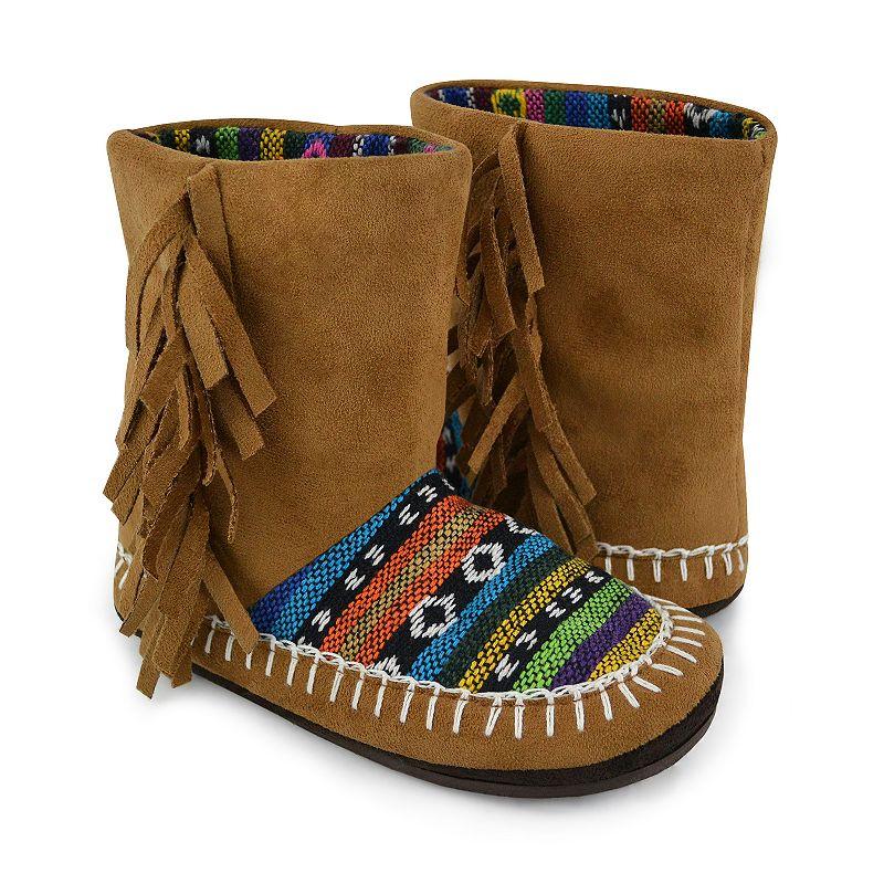 MUK LUKS Tiffany Slipper Boots - Girls
