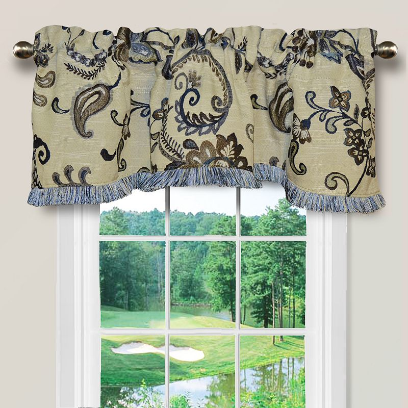 Polyester Floral Valance