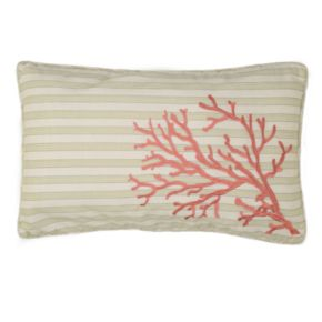 Pescador Coral Decorative Pillow