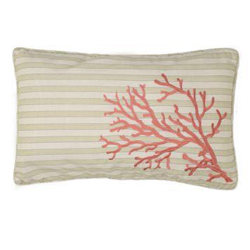 Pescador Coral Decorative Pillow