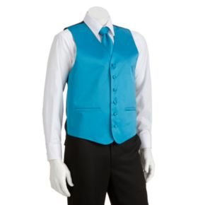 Men's Steven Land Solid 4-pc. Vest Set