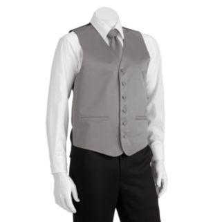 Men's Steven Land Solid 4-pc. Vest Set