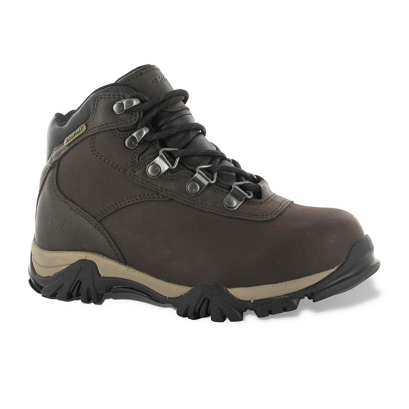 Hi-Tec Brown Altitude V Waterproof Jr. Hiking Boots - Kids