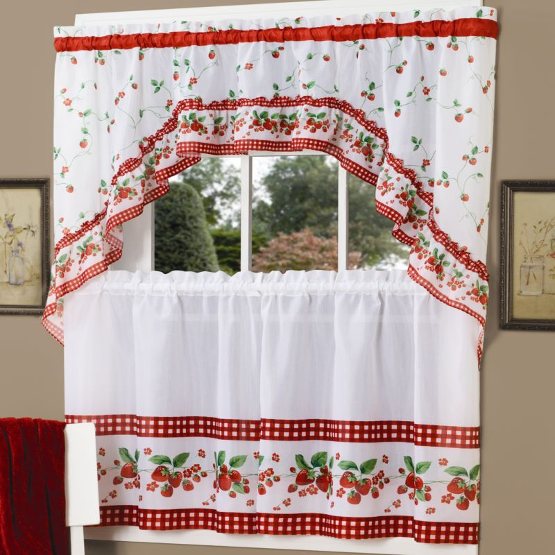 Swag Kitchen Curtains Tier Sets