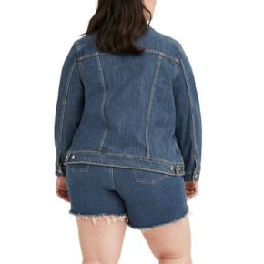 Plus Size Levi's Denim Trucker Jacket