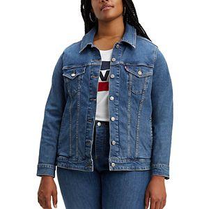 Plus Size Levi's® Denim Trucker Jacket