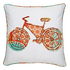 Zanzibar Bicycle Decorative Pillow