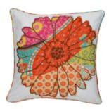 Zanzibar Flower Decorative Pillow