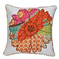 Zanzibar Flower Decorative Pillow