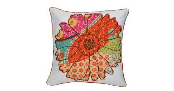 Kohls Decorative Bed Pillows : Zanzibar Flower Decorative Pillow