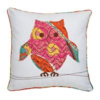 Zanzibar Owl Decorative Pillow