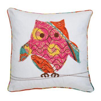 Zanzibar Owl Decorative Pillow