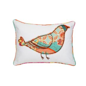 Zanzibar Bird Decorative Pillow