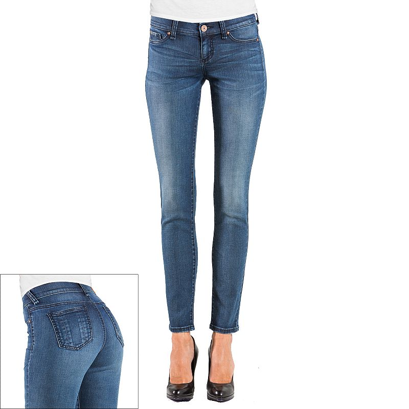 S&P by Standards and Practices Faded Skinny Jeans