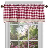 "Buffalo Check Straight Window Valance - 58"" x 14"""