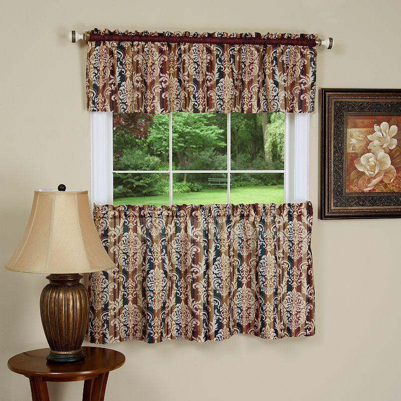 Kohl S Kitchen Curtains: Brown Kitchen Window Treatment