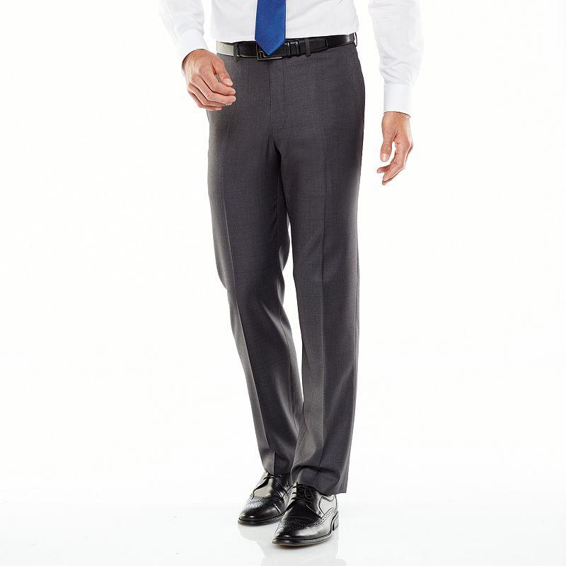van heusen studio modern fit charcoal suit pants men