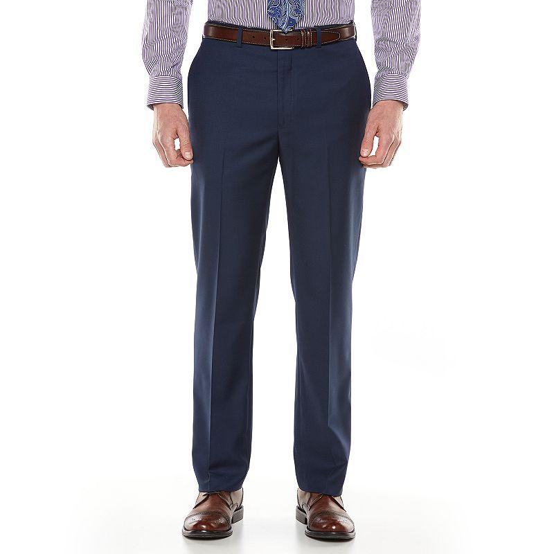 van heusen studio modern fit navy suit pants men