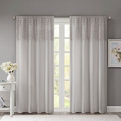 Madison Park 1-Panel Kylie Reversible Window Panel