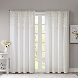 Madison Park 1-pack Kylie Reversible Window Curtain