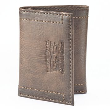 Men's Levi's® Brown Trifold Wallet