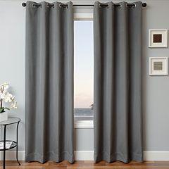 Softline 1-Panel Sunbrella Solid Indoor Outdoor Window Panel - 52' x 84'