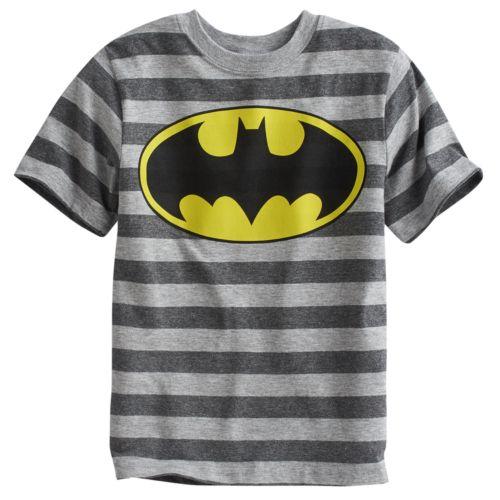 Batman Striped Tee - Boys 4-7x