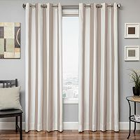 Softline Sunbrella Stripe Indoor Outdoor Window Panel - 52