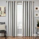 """Softline Sunbrella Stripe Indoor Outdoor Window Panel - 52"""" x 84"""""""