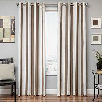 Softline Sunbrella Stripe Indoor Outdoor Window Panel - 52