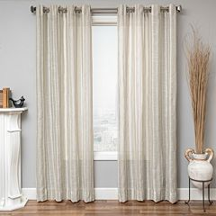 Softline 1-Panel Zanzibar Striped Window Panel - 50' x 84'