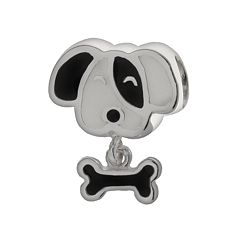 Individuality Beads Sterling Silver Dog Charm