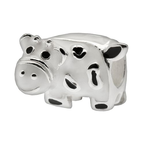 Individuality Beads Sterling Silver Cow Bead