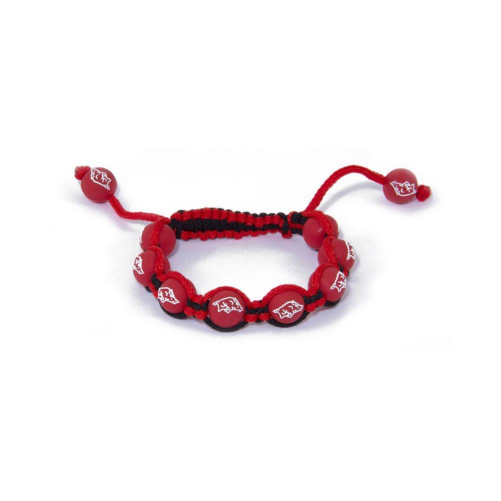 Arkansas Razorbacks Bead Bracelet