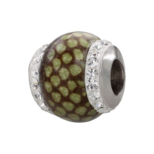 Individuality Beads Sterling Silver Crystal Python Bead