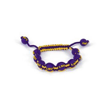 LSU Tigers Bead Bracelet