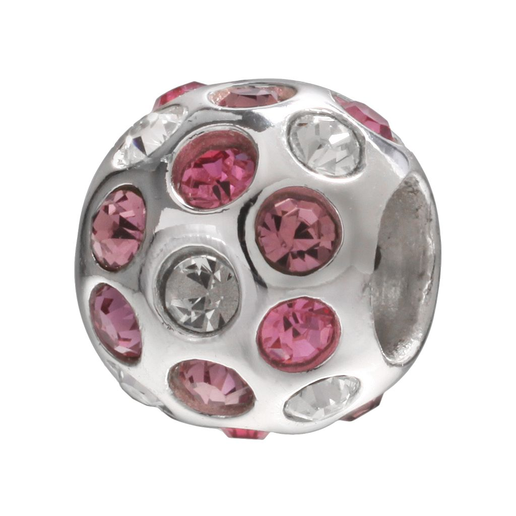 Individuality Beads Sterling Silver Crystal Spacer Bead