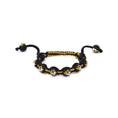 Missouri Tigers Bead Bracelet