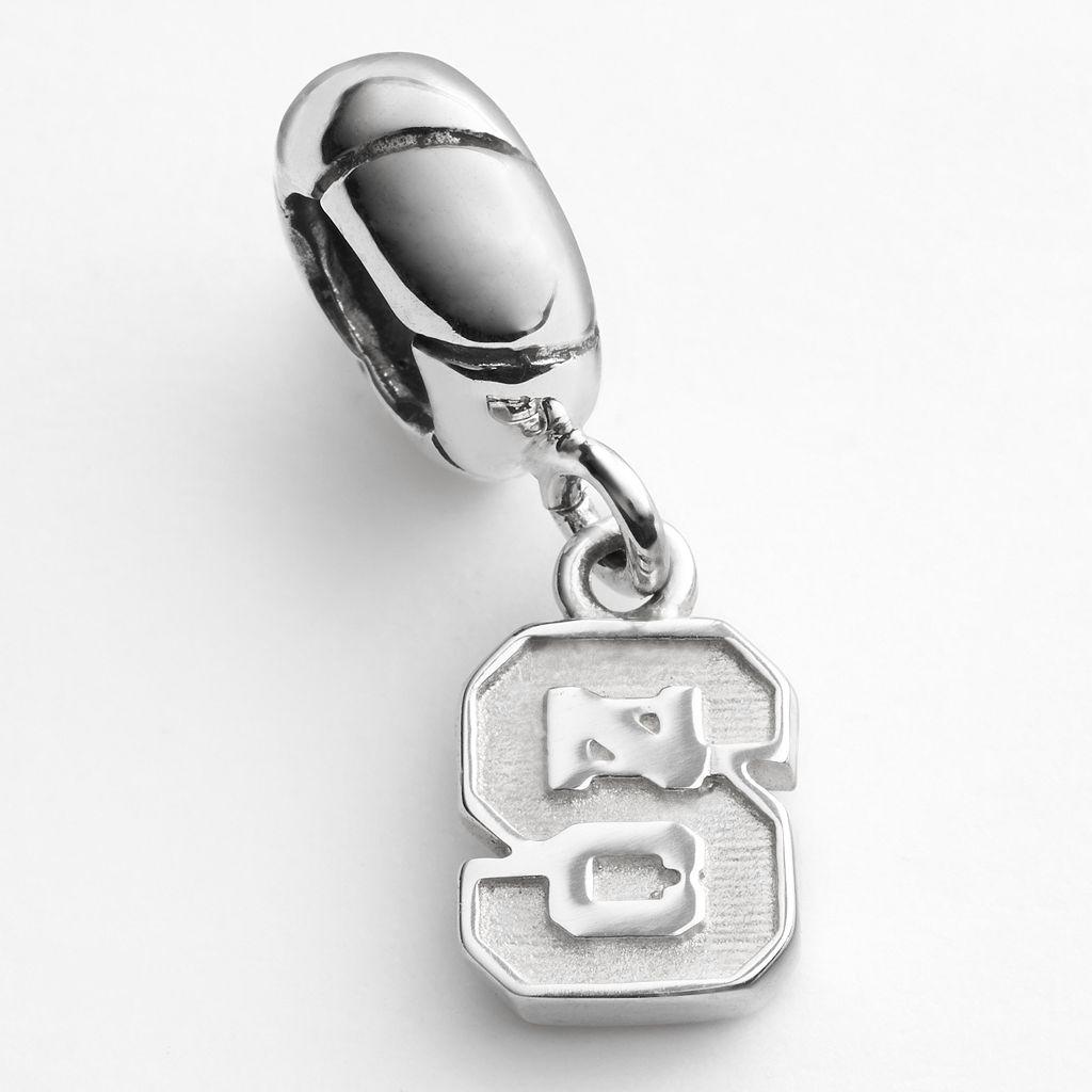 Dayna U North Carolina State Wolfpack Sterling Silver Logo Charm