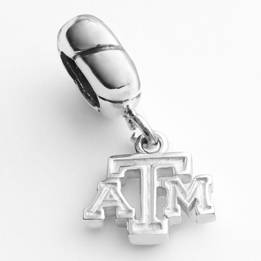 Dayna U Texas A&M Aggies Sterling Silver Logo Charm