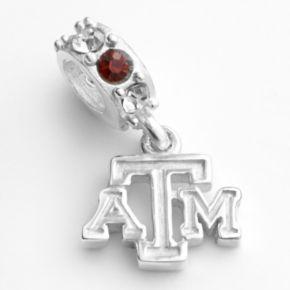 Dayna U Texas A&M Aggies Sterling Silver Crystal Logo Charm