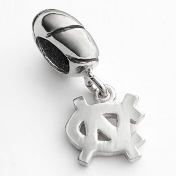Dayna U North Carolina Tar Heels Sterling Silver Logo Charm
