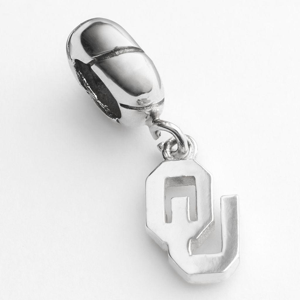 Dayna U Oklahoma Sooners Sterling Silver Logo Charm