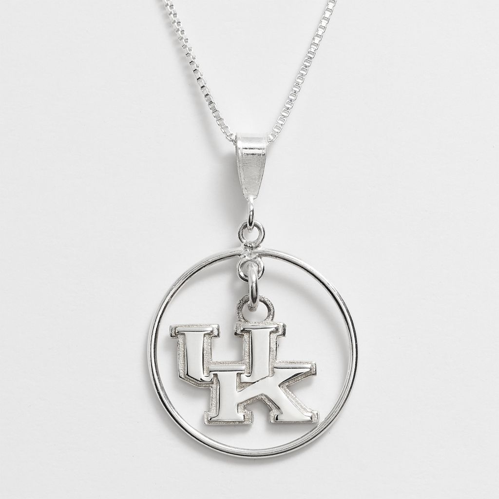 Dayna U Kentucky Wildcats Sterling Silver Logo Pendant