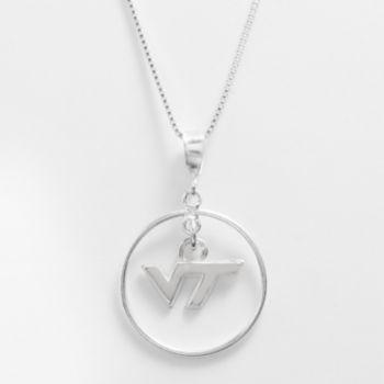 Dayna U Virginia Tech Hokies Sterling Silver Logo Pendant
